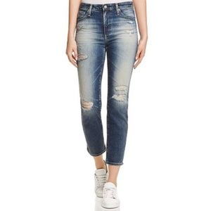 Adriano Goldschmied Isabelle High Rise Crop Jean
